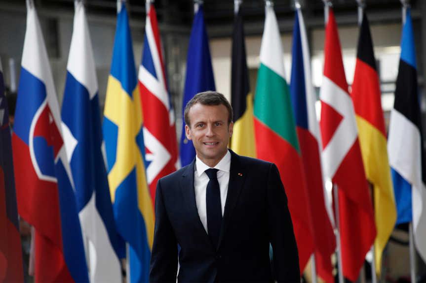 Projet Politique étrangère Européenne Macron