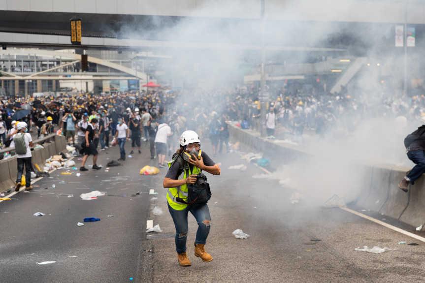 Manifestation Hong-kong