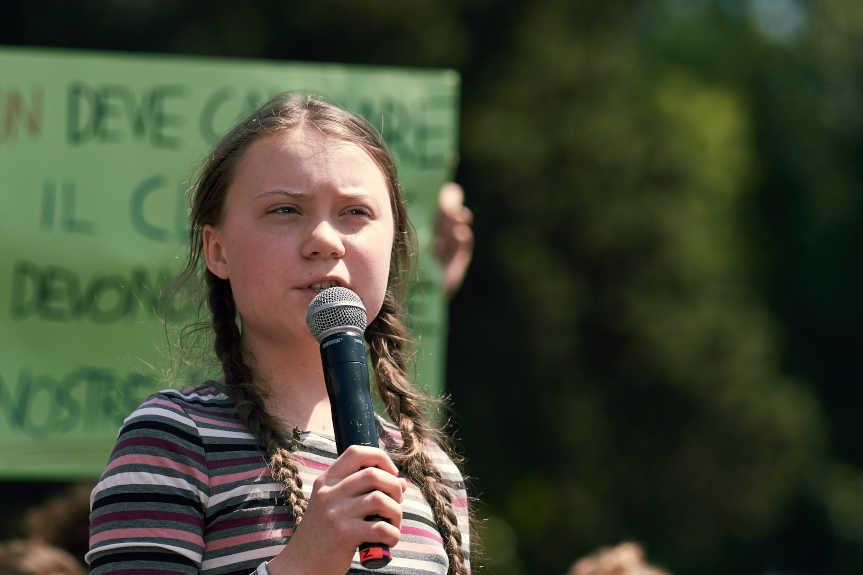 Plainte Greta Thunberg