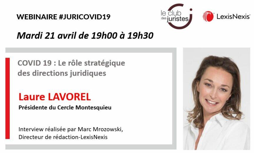 Webinar Juri-Covid 19 Laure Lavorel