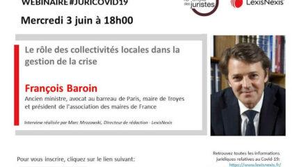 Webinar Juri-covid19 Francois Baroin