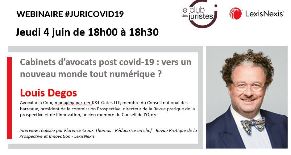 Webinar Jurid Covid-19 Louis Degos