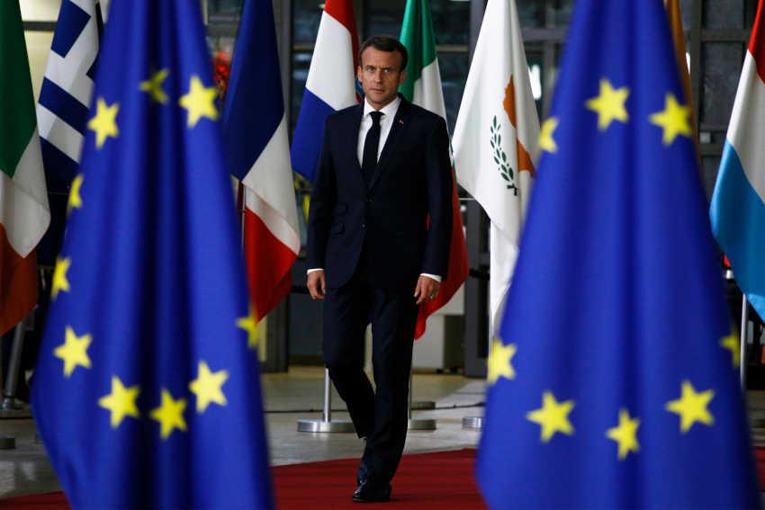 Macron Conseil De L'Union Européenne